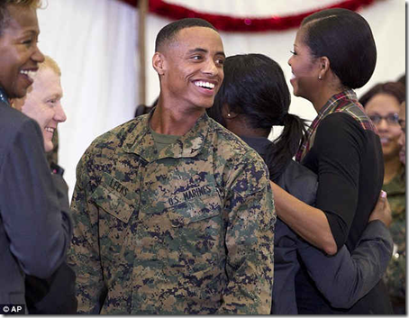 Marine Asks First Lady To Corps Ball And She Says Yes…If Her Husband Agrees