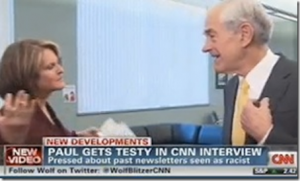 Ron Paul storms away from CNN interview