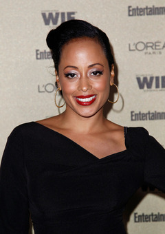 Essence Atkins on Being a New Mom: Look At What God Gave Me