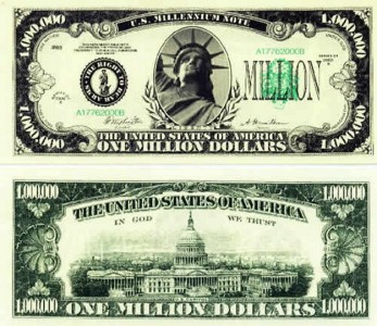 WTH: Man tries to pay Wal-Mart with a million dollar bill!!!!