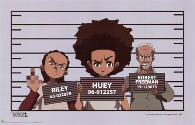 Are The Boondocks Returning to TV The Boondocks Huey With Gun
