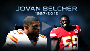 Kansas City Chiefs linebacker Jovan Beltcher shot himself in front of head coach Romeo Cronnel and general manager Scott Pioli