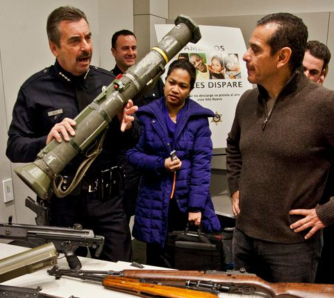 rocket launcher buyback LAPD