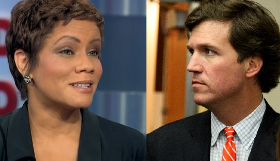goldie taylor and tucker carlson