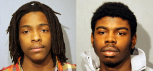 Kenneth Williams, 20, (left) and Michael Ward, 18, (right)
