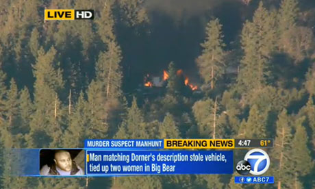 Chris Dorner cabin