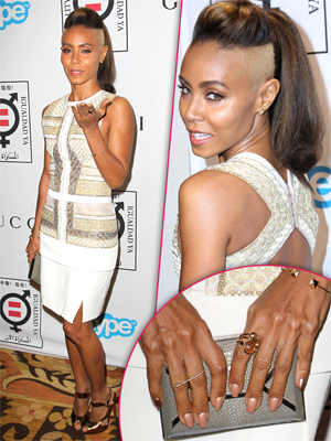 Jada Pinkett Smith No Ring Will Tall