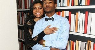 Taraji P. Henson and son