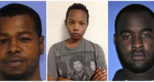 (L-R) Marvin Banks, Joanie Calloway and Curtis Banks are shown in a combo of three undated police handout photos provided by the Hattiesburg Police Department in Hattiesburg, Mississippi May 10, 2015. REUTERS/Hattiesburg Police Dept/Handout via Reuters