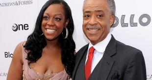 NEW YORK - JUNE 14:  Dominique Sharpton and Reverend Al Sharpton pose for a photo on the red carpet at the 2010 Apollo Theater Spring Benefit Concert & Awards Ceremony at The Apollo Theater on June 14, 2010 in New York City.  (Photo by Jemal Countess/Getty Images) *** Local Caption *** Al Sharpton;Dominique Sharpton
