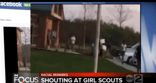 shouting at girl scouts
