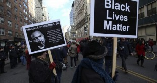 Black Lives Mattter protest sign
