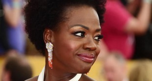 Actress Viola Davis arrives for the 21st Annual Screen Actors Guild Awards, January 25, 2015 at the Shrine Auditorium in Los Angeles, California.  AFP PHOTO / FREDERIC J. BROWNFREDERIC J. BROWN/AFP/Getty Images
