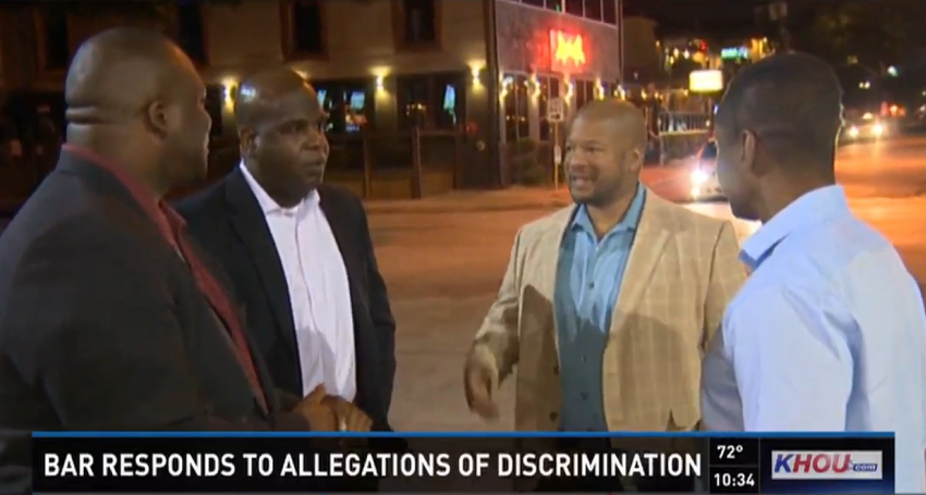 A Group Of Black Men Who Visited A Houston Bar On Friday Night Claim The  Gaslamp