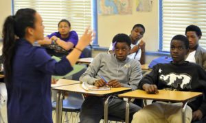 African-American-students-in-class