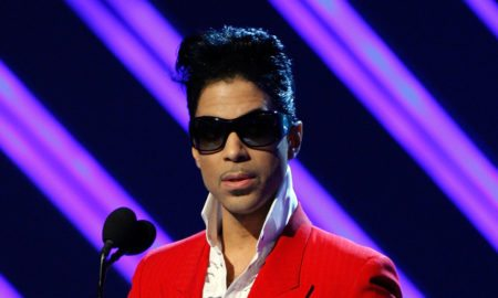 LOS ANGELES, CA - FEBRUARY 10:  Musician Prince presents the Best Female R&B Performance award during the 50th annual Grammy awards held at the Staples Center on February 10, 2008 in Los Angeles, California.  (Photo by Kevin Winter/Getty Images)