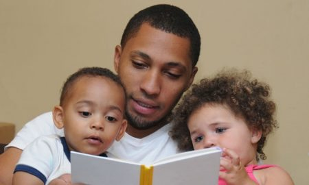 african-american-dad-with-kids
