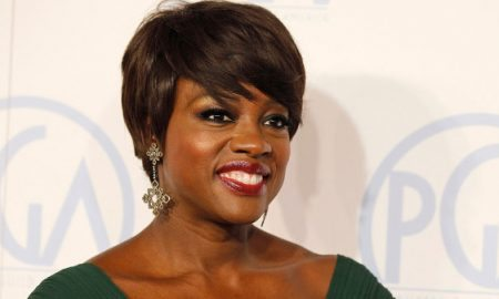 "Actress Viola Davis, star of the film ""The Help"", arrives at the 23rd annual Producers Guild Awards in Beverly Hills, California, January 21, 2012.  REUTERS/Fred Prouser (UNITED STATES - Tags: ENTERTAINMENT)"