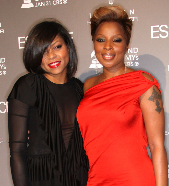 Why Taraji Henson's First Encounter With Mary J  Blige Ended With A