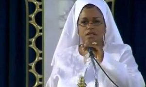 Farrakhan's daughter says white man has made black women into men