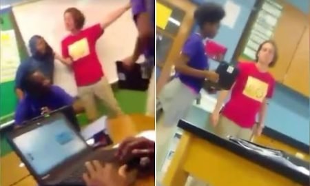 """Teacher caught on video calling black students """"idiots and punk ass nigg*s"""""""
