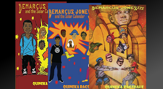 The Demarcus Jones Children's Book Series Teaches Black History Through Action and Adventure