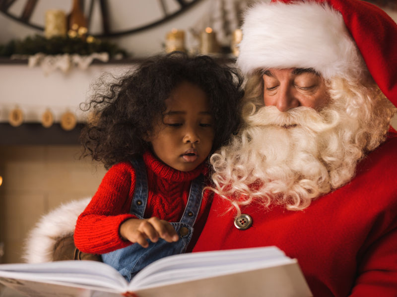 is it okay for black people to take their children to a white santa - Black People Christmas