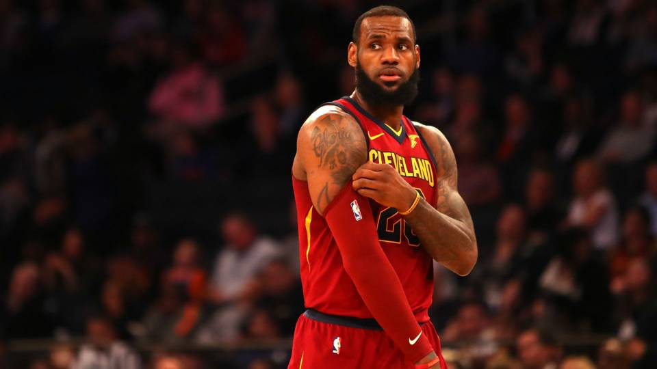 Did Trumps Comments On Lebron James Spark Other Black Athletes To Act