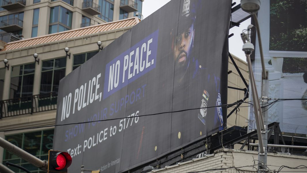 Far Right-Wing Group Praises its Big City 'No Police No Peace' Billboards – Your Black World